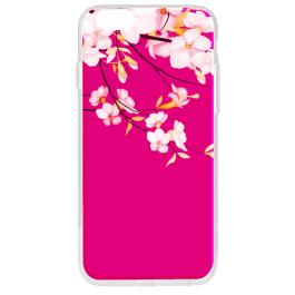 Cherry Blossom - iPhone 6 Plus Carcasa Transparenta Silicon