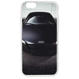 Audi R8 - iPhone 6 Plus Carcasa Transparenta Silicon