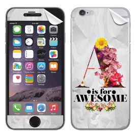 A is for Awesome - iPhone 6 Plus Skin