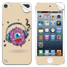 Fluffy Headphones - Apple iPod Touch 5th Gen Skin