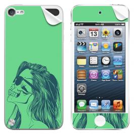 Skull Girl - Apple iPod Touch 5th Gen Skin