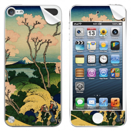 Hokusai - The Fuji from Gotenyama at Shinagawa on the Tokaido - Apple iPod Touch 5th Gen Skin