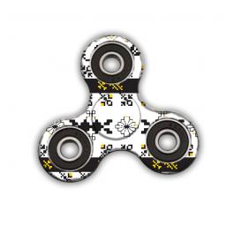 Fidget Spinner - Black & Yellow