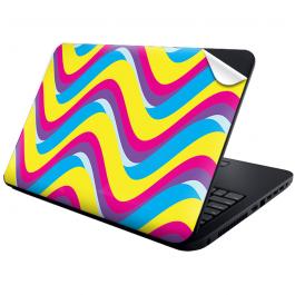 CMYK Waves - Laptop Generic Skin