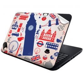 London Collage - Laptop Generic Skin