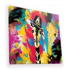 Excuse Me Sir - Canvas Art 90x90