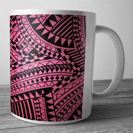 Cana personalizata - Pink & Black