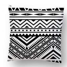 Perna decorativa - Tribal Black & White