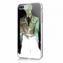 Kishou Arima - iPhone 7 Plus / iPhone 8 Plus Carcasa Transparenta Silicon