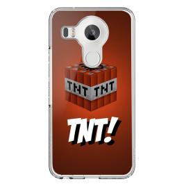 TNT! - LG Nexus 5X Carcasa Transparenta Silicon