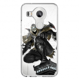 League of Legends Zed 4 - LG Nexus 5X Carcasa Transparenta Silicon