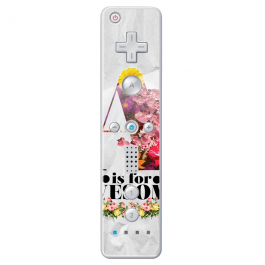 A is for Awesome - Nintendo Wii Remote Skin