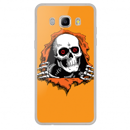 Out of My Wall - Samsung Galaxy J7 Carcasa Silicon Transparent