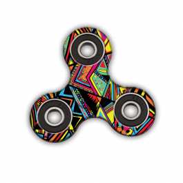 Fidget Spinner - Patchy Stripes