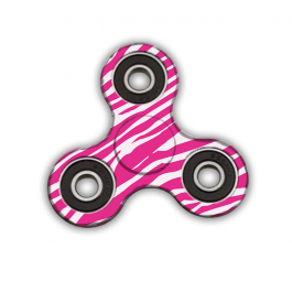Fidget Spinner - Pink Zebra
