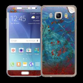 Metallic Scratch - Samsung Galaxy J5 Skin