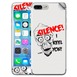 Silence I Keel You - iPhone 7 Plus / iPhone 8 Plus Skin