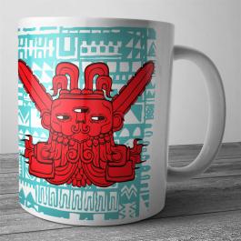Cana personalizata - Red God