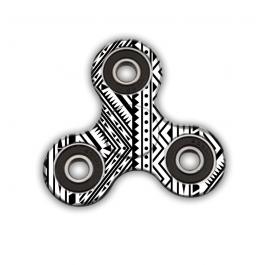 Fidget Spinner - Tribal Black & White