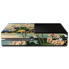 Hokusai - The Fuji from Gotenyama at Shinagawa on the Tokaido - Xbox One Consola Skin