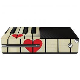 Piano Love - Xbox One Consola Skin