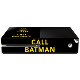Keep Calm and Call Batman - Xbox One Consola Skin