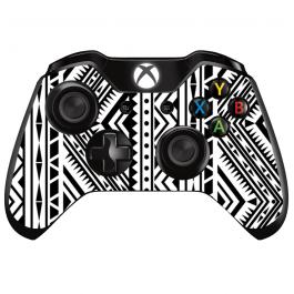 Tribal Black & White - Xbox One Controller Skin