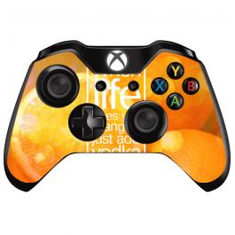 Vodka Orange - Xbox One Controller Skin