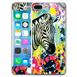 Zebra Splash - iPhone 7 Plus / iPhone 8 Plus Skin