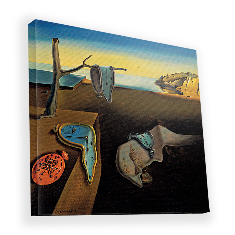 Salvador Dali - The Persistence of Memory - Canvas Art 90x90