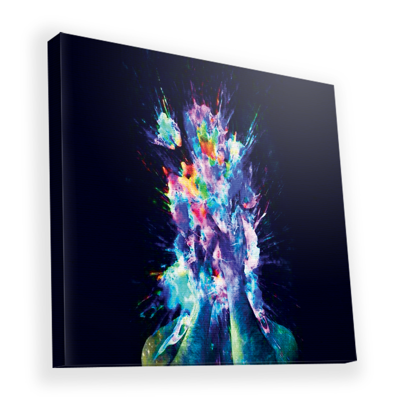 Explosive Thoughts - Canvas Art 45x45