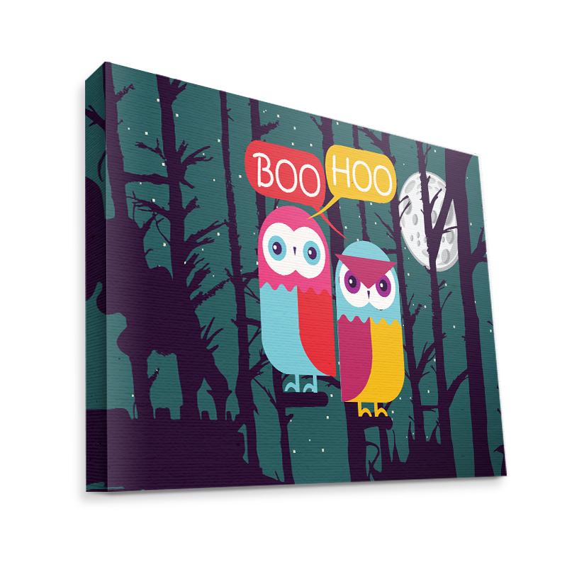 Boo Hoo 2 - Canvas Art 75x60