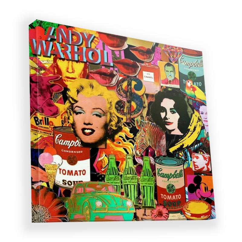 Pop Art Mix - Canvas Art 45x45