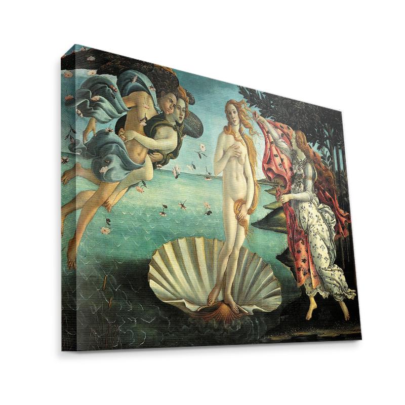 Botticelli - La nascita di Venere - Canvas Art 35x30