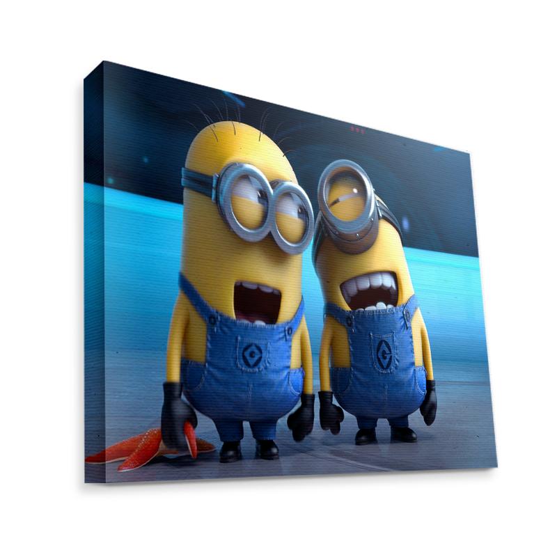 Funny Minions - Canvas Art 75x60