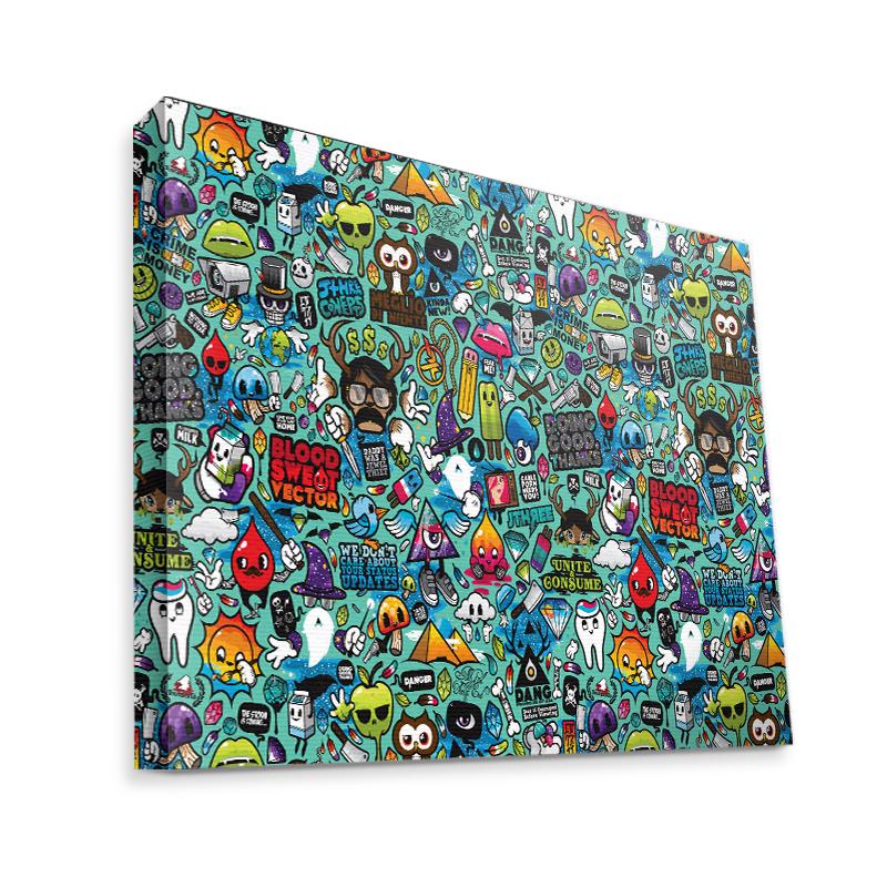 Urban Chaos - Canvas Art 35x30