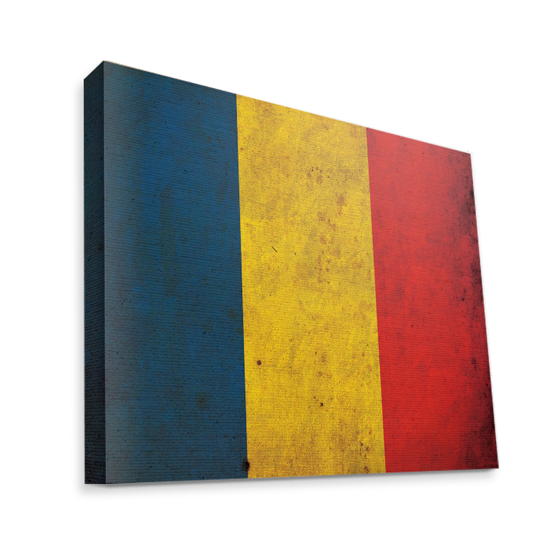 Romania - Canvas Art 35x30