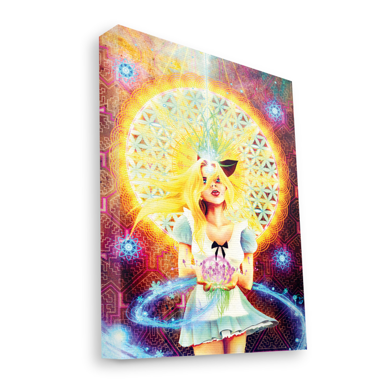 Alice is Gone - Canvas Art 60x75
