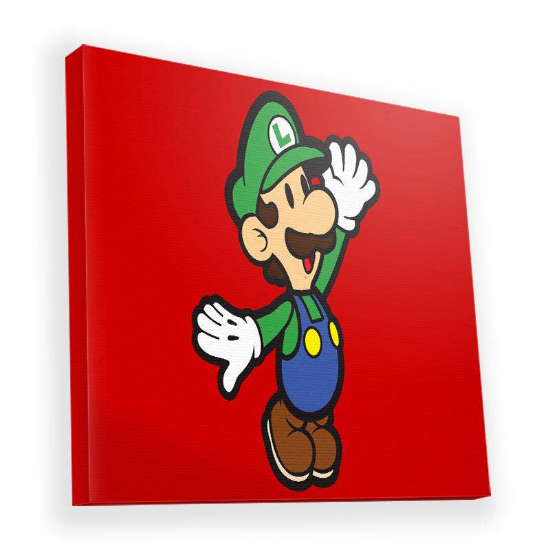 Luigi Two - Canvas Art 45x45
