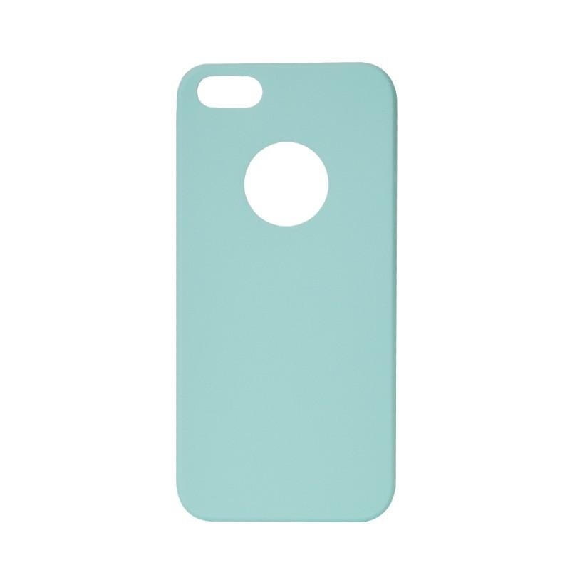 Procell Silky - iPhone 5/5S/SE Carcasa Silicon Albastru