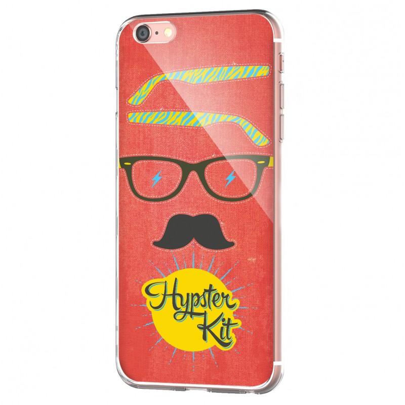 Hypster Kit - iPhone 6 Carcasa Transparenta Silicon