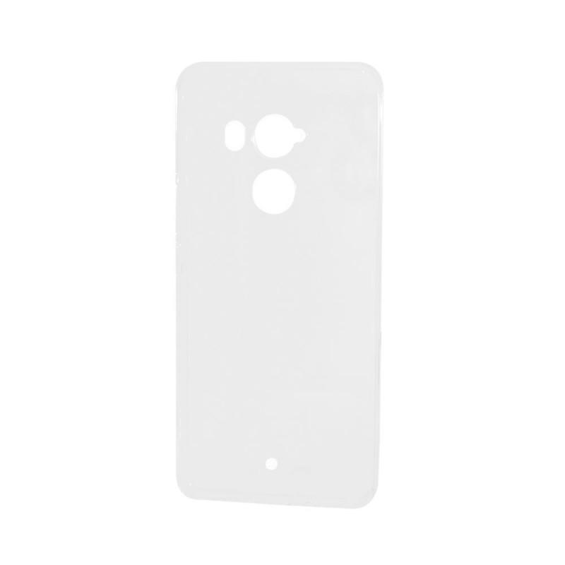 Lemontti - HTC U11 Plus Carcasa Silicon Transparent