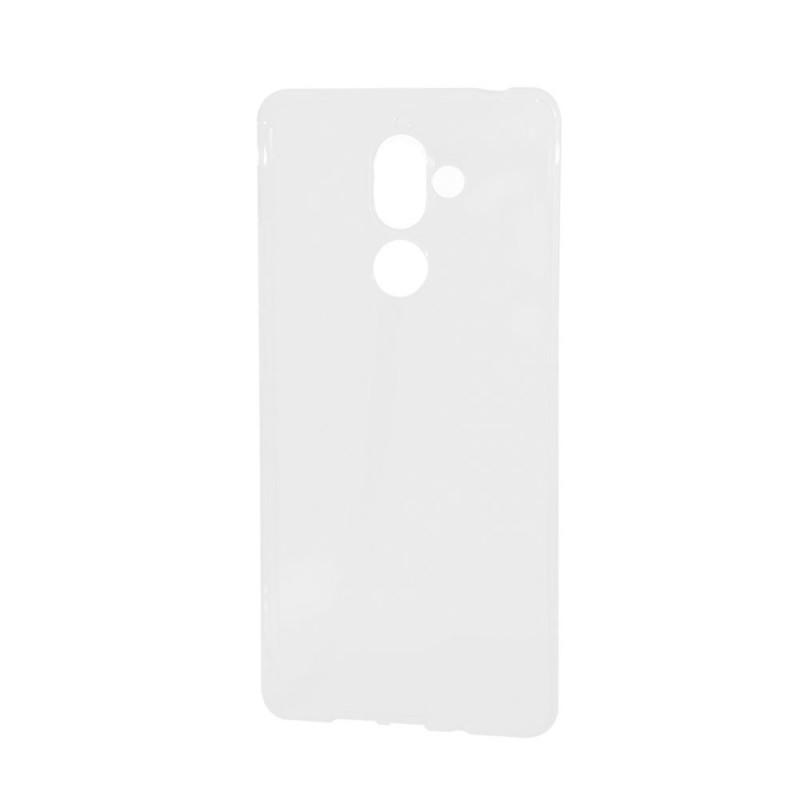 Lemontti - Nokia 7 Plus Carcasa Silicon Transparent