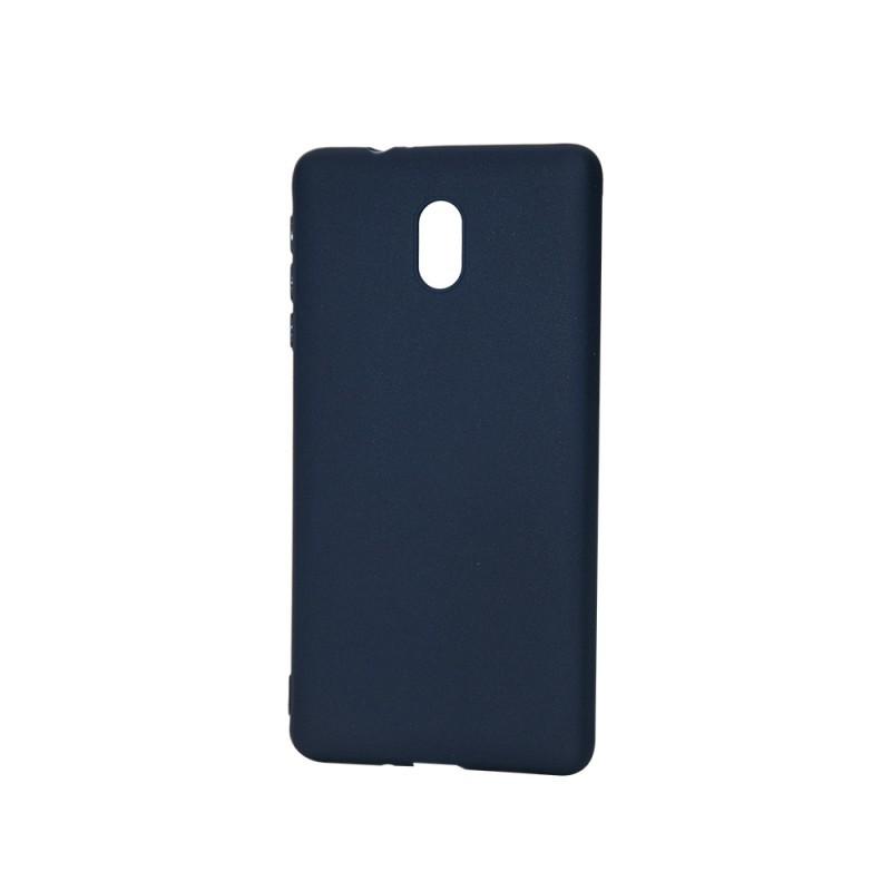 Procell Silky - Nokia 3 Carcasa Silicon Albastru Inchis
