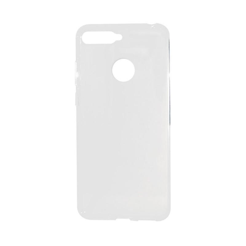 Lemontti - Huawei Y6 Prime 2018 Carcasa Silicon Transparent