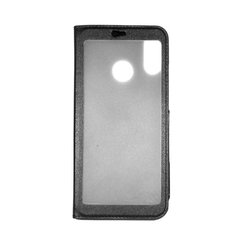 Just Must Smart Window Black - Huawei P20 Lite Husa Book Neagra