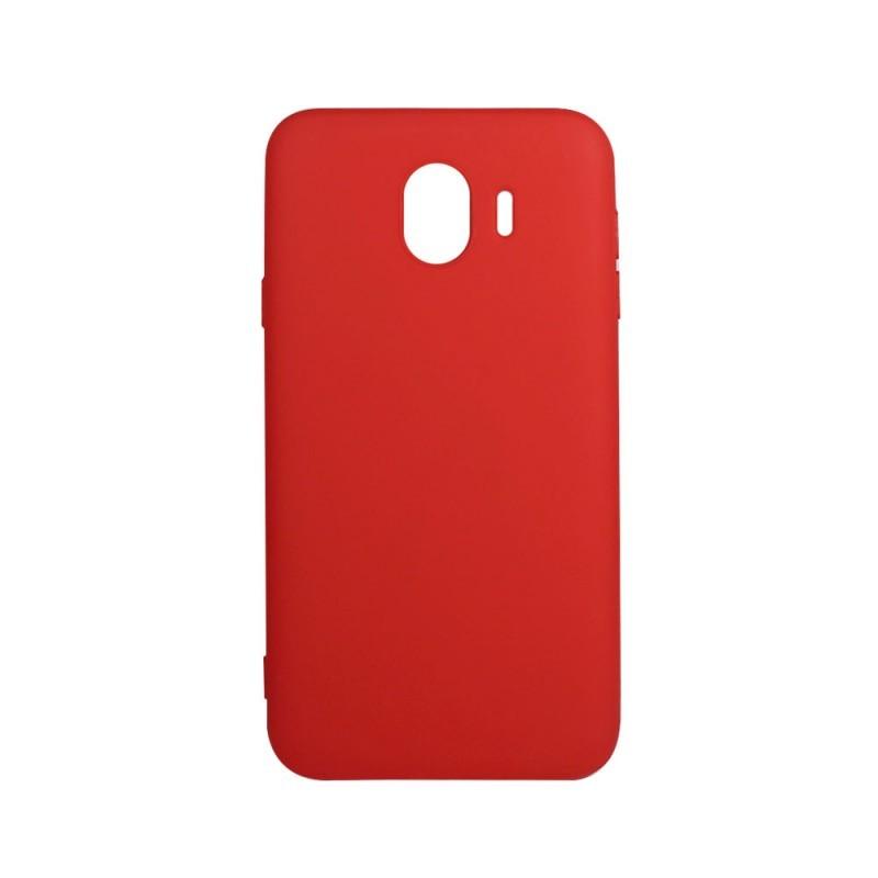 Procell Silky - Samsung Galaxy J4 (2018) Carcasa Silicon Rosu
