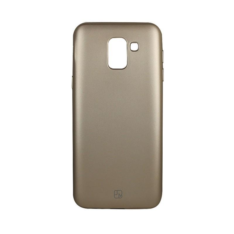 Just Must Lanker Gold - Samsung Galaxy J6 (2018) Carcasa Silicon Auriu