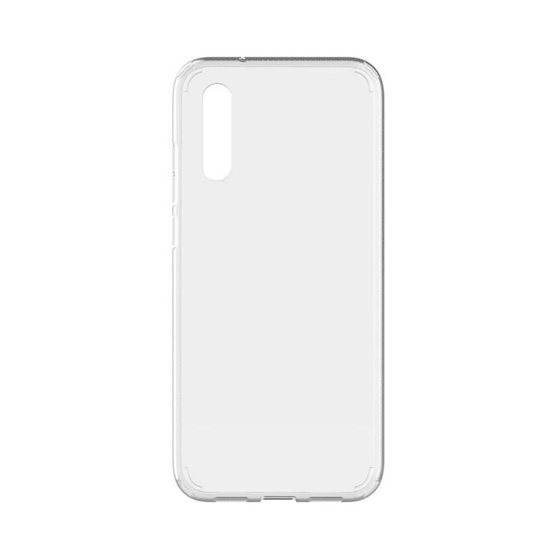 Devia Shockproof Clear - Huawei P20 Carcasa TPU (antishock, spate dur si margini flexibile)