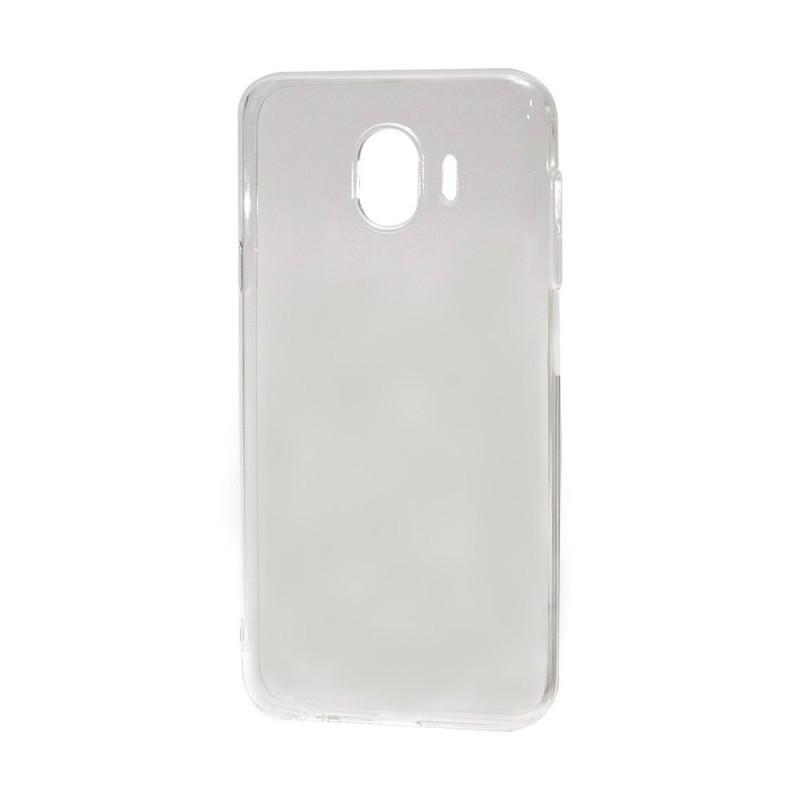 Naked Crystal Clear - Devia Samsung Galaxy J4 (2018) Carcasa Transparenta Silicon (0.5mm)